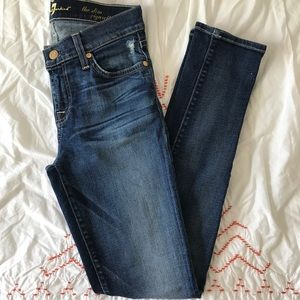 7 for all mankind the slim cigarette Sz 25